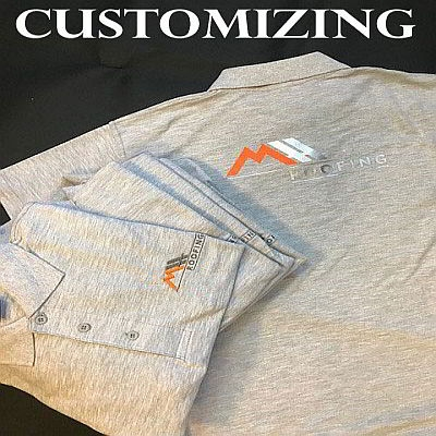 Customizing Staff Clothing