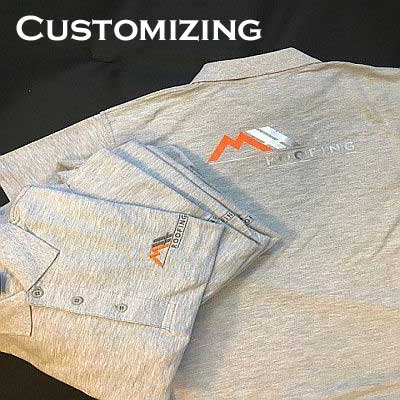 Custom Clothing Business Logo Embroidery